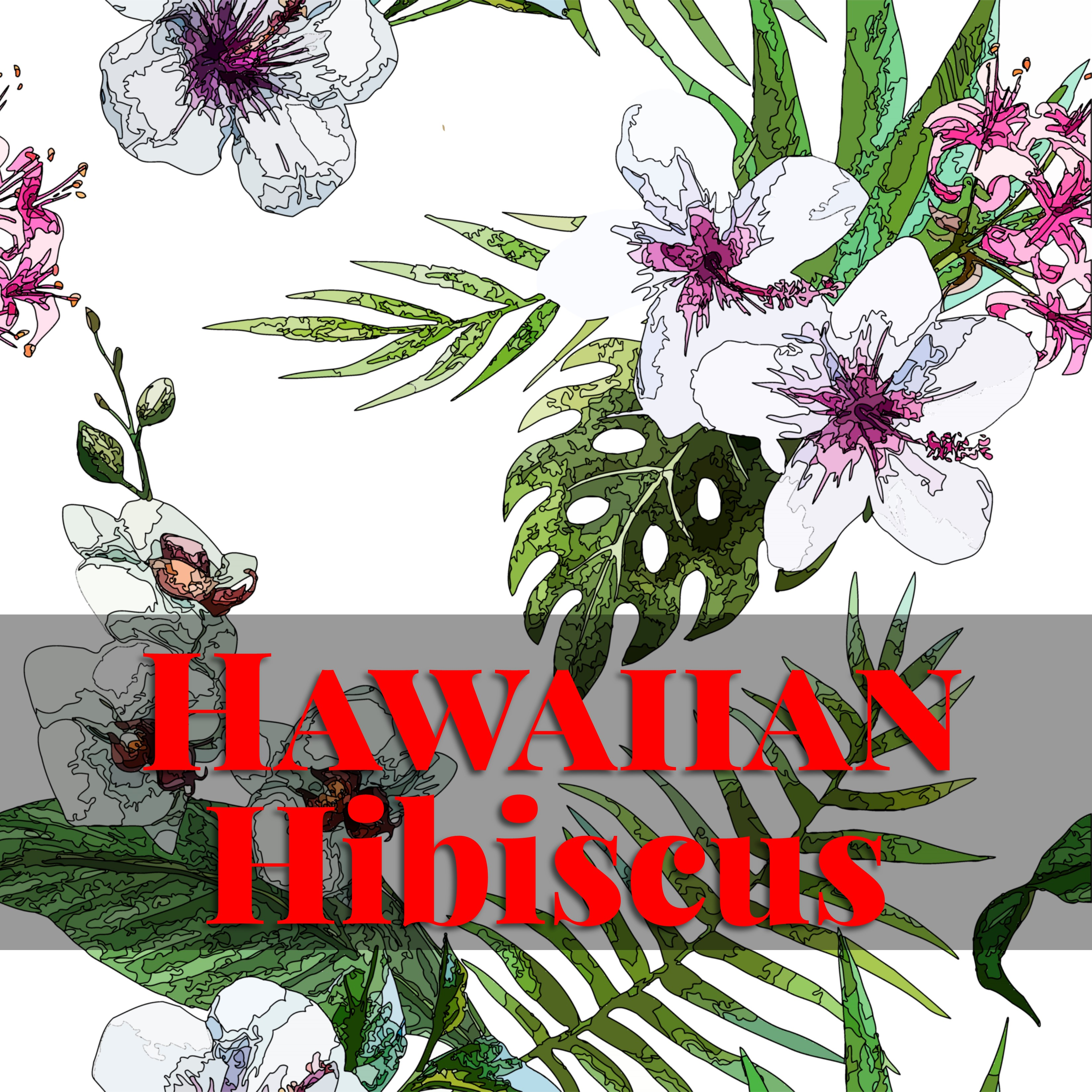 Adult coloring book | Hawaiian Heritage Press | Page 2