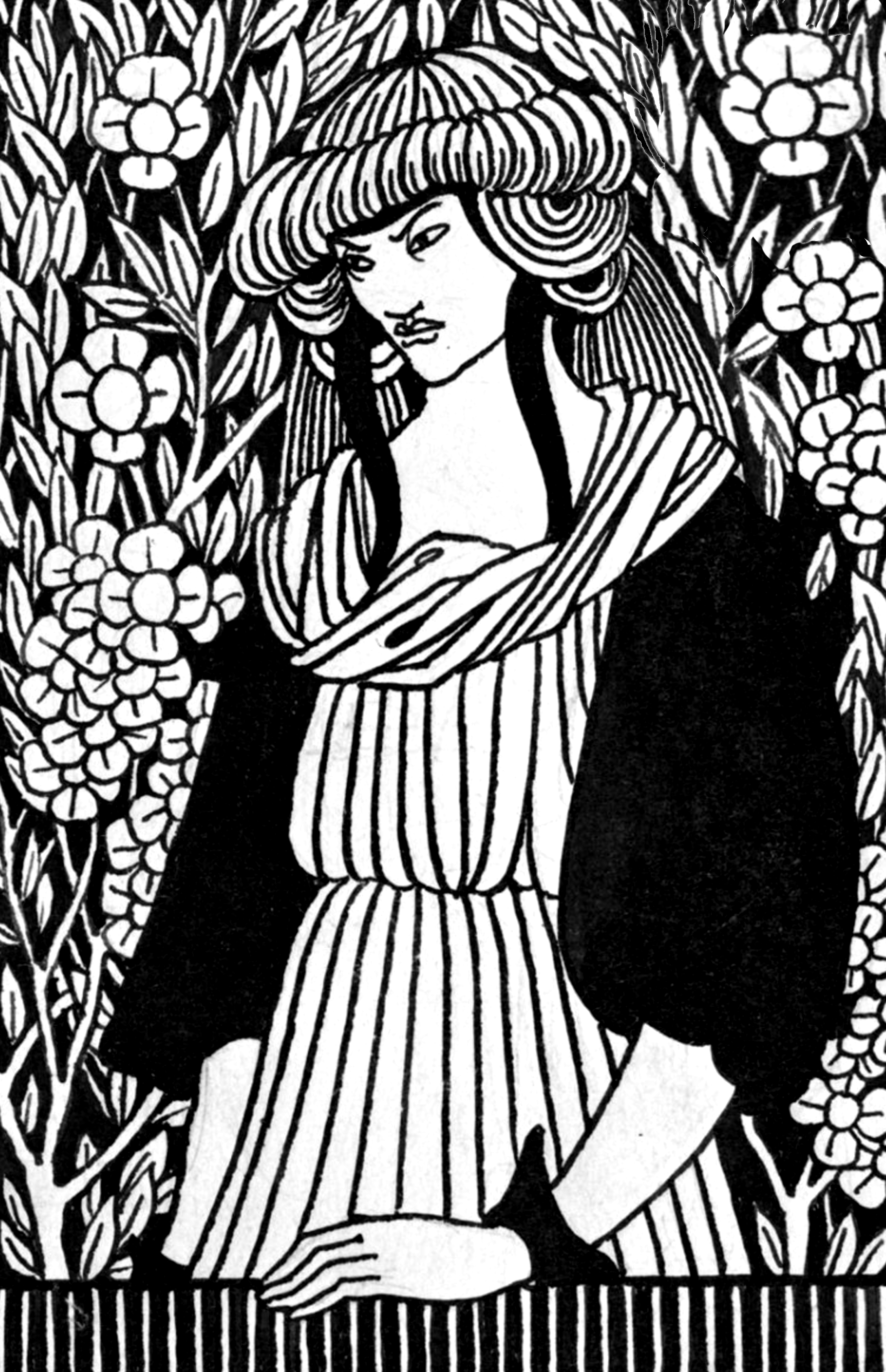 - Free Downloadable Coloring Pages: The Aubrey Beardsley Coloring